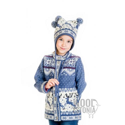 Kids jacket with a deer
