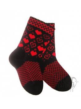 Socks with hearts