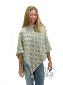 Woman's woolen poncho