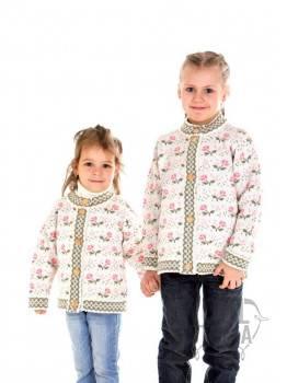 Детская кофта с розочками