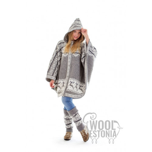 Woman's jacket with a deer
