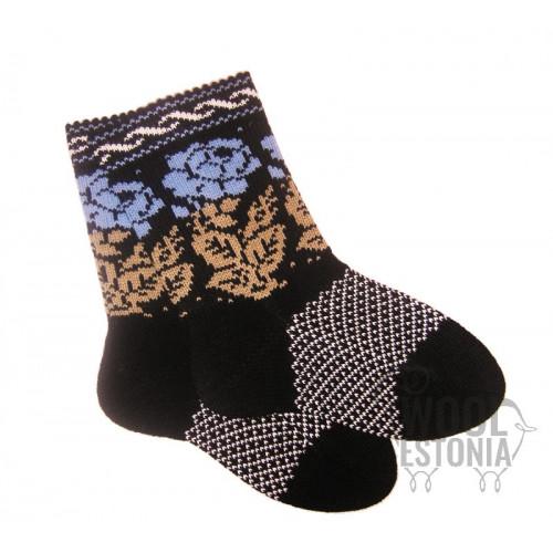 Socken mit rosen