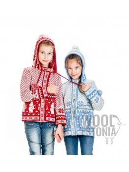 Barn tröja med huva