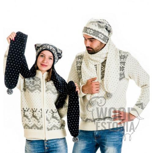 Шапка-шарф со звездой