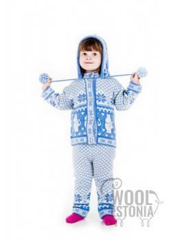 Детский комплект с Муми-троллем, с капюшоном