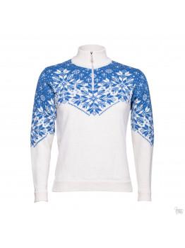 Шерстяной мужской свитер белый с узором. Кофты из мериносовой шерсти. Очень мягкая шерсть.